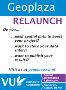 Geoplaza relaunch