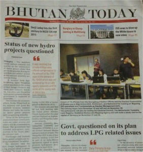 GIS training Bhutan