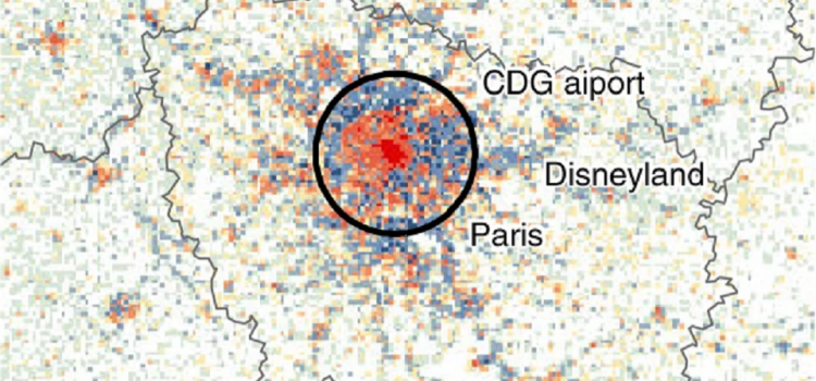 Europe's population density patterns mapped in Nature Communications